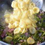 Orecchiette broccoli e pancetta