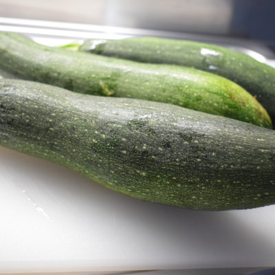 casarecce con le zucchine fritte