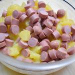 Quiche wurstel e patate