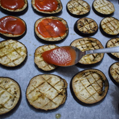 Pizzette di melanzane