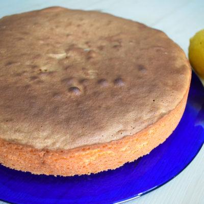 Pan di spagna al limone - Ricetta Bimby