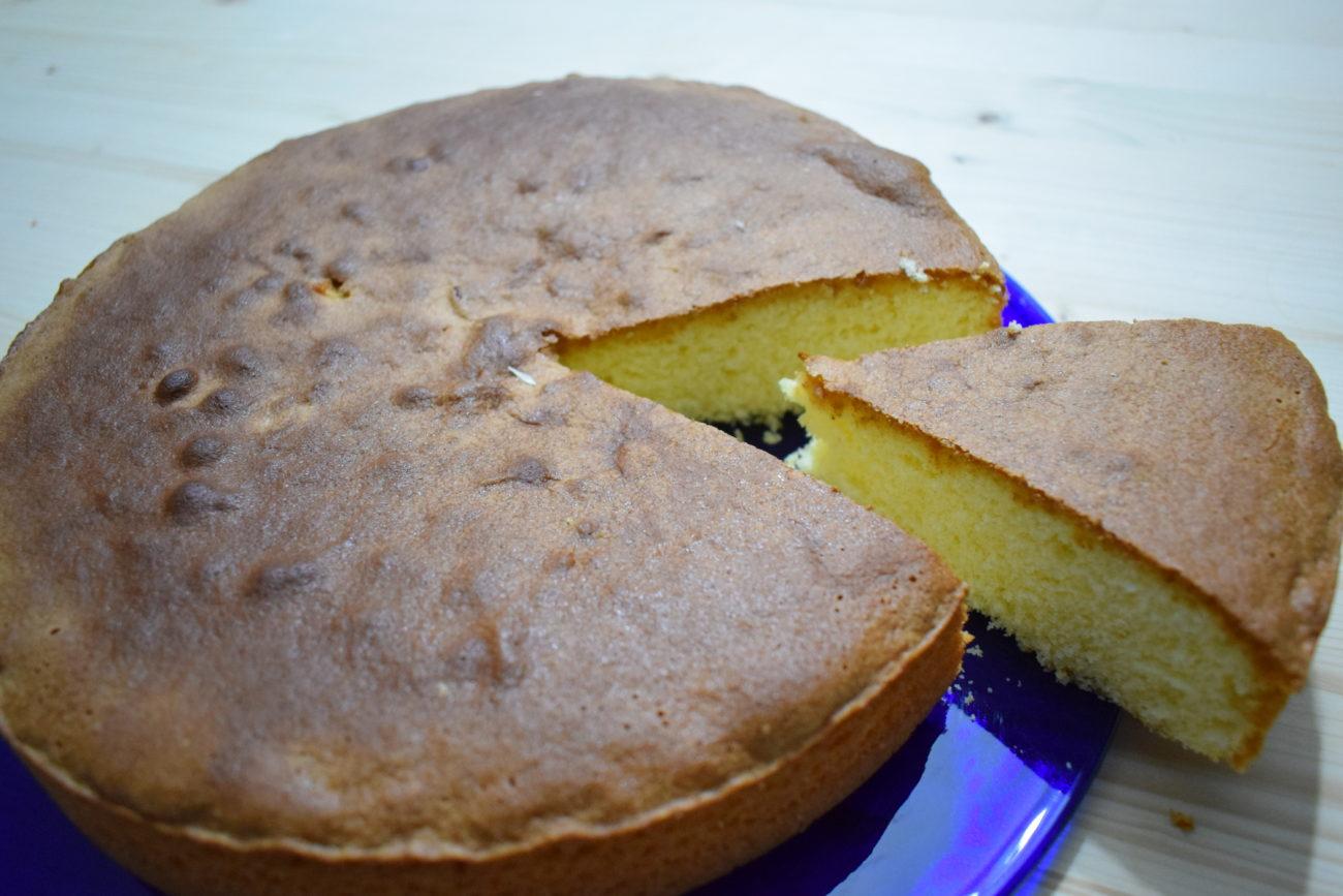 Pan di spagna al limone – Ricetta Bimby