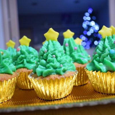 Cupcake natalizi – Ricetta Bimby
