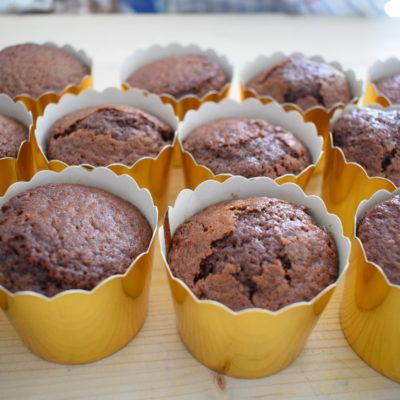 muffin al cioccolato - Ricetta Bimby