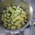 Quiche con zucchine e uova