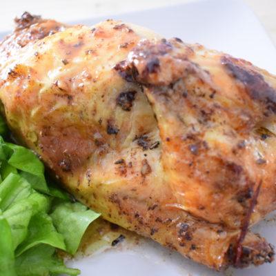 Pollo intero al forno