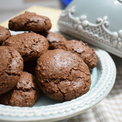 Amaretti al cioccolato - Ricetta Bimby