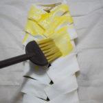 Treccia di pasta sfoglia con scarole