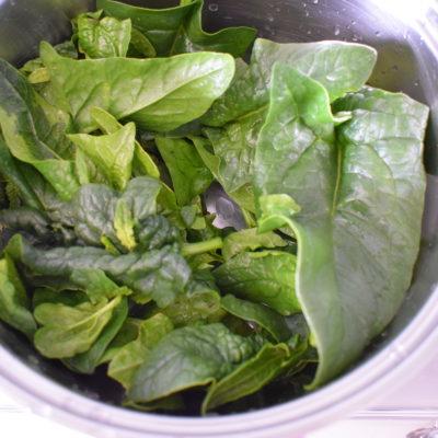 Medaglioni di patate e spinaci
