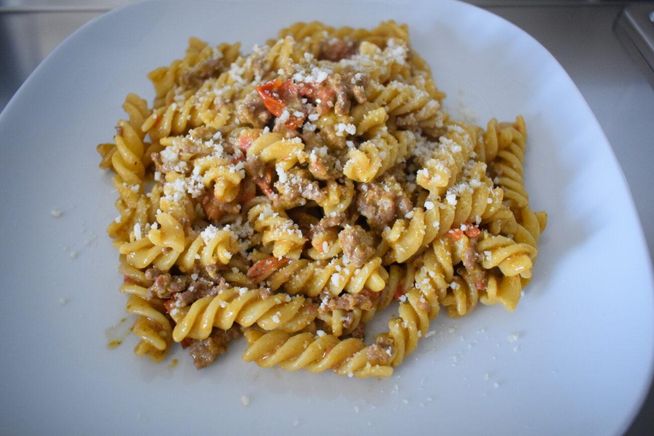 Pasta alla Montecarlo
