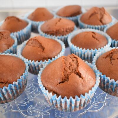 Muffin con philadephia e nutella