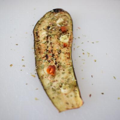 Involtini di melanzane grigliate sott'olio
