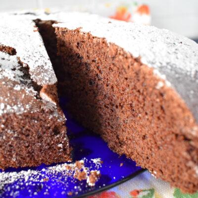 Torta semplice al cacao - Ricetta Bimby