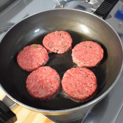 Hamburger di manzo fatti in casa