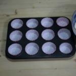Muffin con barrette Kinder