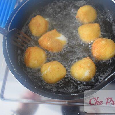 Mozzarelline impanate e fritte